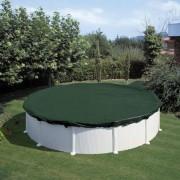Summer Fun talvine basseinikate, ümmargune, 360 cm, PVC, roheline