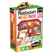 Montessori Primul Meu Puzzle - Ferma.Varsta recomandata 2 - 4 ani
