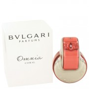 Omnia Coral Eau De Toilette Spray (Tester) By Bvlgari 2.2 oz Eau De Toilette Spray