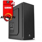Altos Holiday 1, AMD Athlon 200GE/8GB/SSD 120GB/Radeon R9 380 2GB/DVD/650W