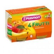 Plasmon (heinz italia spa) Plasmon Omog 4 Frutti 6x104g