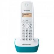 Telefon DECT alb/albastru, KX-TG1611FXC, Panasonic