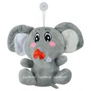 LipiWorld® cartoon Elephant Stuffed Animal Soft Plush Toy Gift for Kids/Children/Home Decor/Kids Birthday-16CM (Hanging Elephant Pack-1)