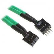 Cablu prelungitor USB intern BitFenix Alchemy 300mm green/black, BFA-MSC-IUSB30GK-RP
