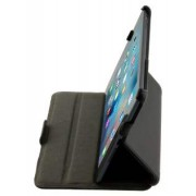 Synthetic Leather Flip Case with Multi-Angle Tilt Stand for iPad mini 1/2/3 - Apple Leather Flip Case (Classic Black)