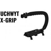 X-GRIP BIG UCHWYT Statyw stabilizujący do kamer i aparatów 1/4 cala