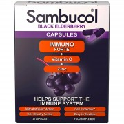 Sambucol Cápsulas Inmuno Forte (30 cápsulas)