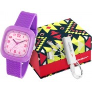 Kit Relógio Speedo Feminino + Kit Carregador Portátil 80561L0EBNP2K2