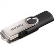 Флаш памет HAMA Rotate, 16GB, Черна