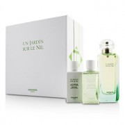 Un Jardin Sur Le Nil Coffret: Eau De Toilette Spray 100ml/3.3oz + Body Lotion 40ml/1.35oz + Shower Gel 40ml/1.35oz 3pcs Un Jardin Sur Le Nil Комплект: Тоалетна Вода Спрей 100мл + Лосион за Тяло 40мл + Душ Гел 40мл