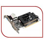 Видеокарта GigaByte GeForce GT 710 954Mhz PCI-E 2.0 2048Mb 1800Mhz 64 bit DVI HDMI HDCP GV-N710D3-2GL