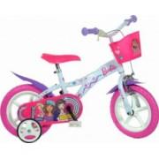 Bicicleta copii DINO BIKES 12inch - Barbie Dreams