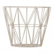 Ferm Living Wire Basket opbergmand grijs medium