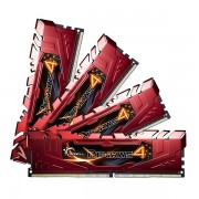 G.SKILL DDR4-2400 32GB Quad Channel [Ripjaws4] F4-2400C15Q-32GRR