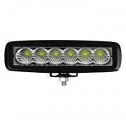 LED pracovní světla - rampa 6 x 2W (12W)