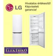 LG GBB59SWJZS kombinált hűtőszekrény , A++, No Frost , Fehér szín