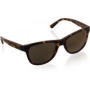 DKNY Wayfarer Sunglasses(Golden)