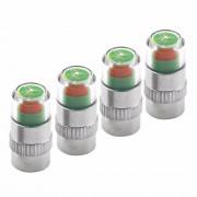 Jingyuqin 40 stks/partij 2.4bar BandenspanningAutoband Monitor Indicator Kraandopverbindingen Sensor 3 Kleur Alert Eye