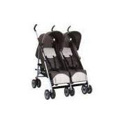 Carrinho De Bebê Gêmeos Burigotto Duetto - Brown