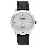 Eterna Eternity Automatic Silver/Black Silver/Black Leather 40mm
