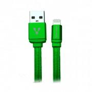 Cable Apple Lightning USB de 1metro Vorago CAB-119 Verde