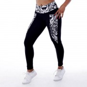 GraffitiBeasts Aura - Dames inverse sportlegging met graffiti design - Multicolor - Size: Small