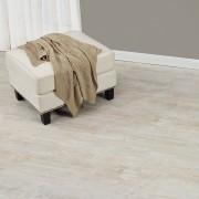 [neu.haus] Suelo de vinilo - láminas de PVC [6,68m² - roble - encalado] muy estructurado - revestimiento de suelo