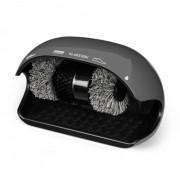 Klarstein ShoeButler Cireuse à chaussures électrique 120W - 3 brosse - Gris
