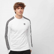 Adidas 3-Stripes Ls T - Wit - Size: Large; male
