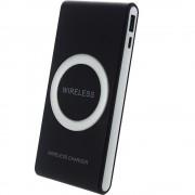 Baterie Externa Cu Incarcare Wireless 7000 mAh Negru STAR