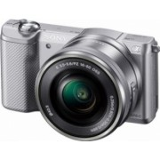 Aparat Foto Mirrorless Sony Alpha A5000 SEL16-50mm Silver