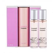Chanel Chance Eau Vive eau de toilette 3x20 ml per donna