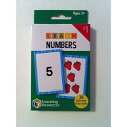'Learning Resources - Learn Numbers Flash Cards' Ages 3+ (36) full-color cards
