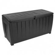 JYSK Kussenbox ULLARED B124xH60xD55 zwart
