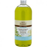 Green Pharmacy Body Care Olive & Rice Milk espuma de baño 1000 ml
