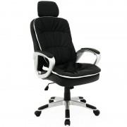 Fotel Biurowy Krzesło Biurowe + Zagłówek