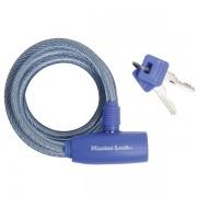 Spirálový zámek na kolo Master Lock 8212EURDPRO - 1,8m - modrý