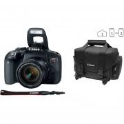 Cámara Reflex Canon Eos Rebel T7i 24.2 Megapixeles Kit Con Lente 18-55 Wifi Bundle Maleta Y Memoria16gb