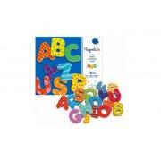 DJECO Drewniane literki magnetyczne dla dzieci ALFABET - litery do nauki alfabetu DJ03100