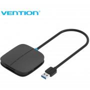 ER Convención De USB 3.0, Lector De Tarjetas 5-en-1 Multi Memoria SD TF CF MS Smart -Negro