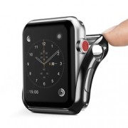 Husa Apple Watch 3 38mm Dux Ducis Silicon - Negru