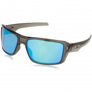 Oakley Double Edge Grey Smoke - Prizm Sapphire Polarized