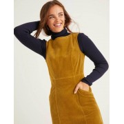 Boden Gold Colette Cord-Kleid Damen Boden, 34 PET, Gold