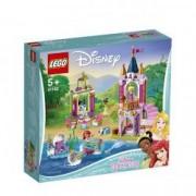 LEGO DISNEY Princess Festivitatile regale ale lui Ariel Aurora si Tiana 41162 pentru 5+