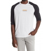 Oakley Factory Pilot 34 Raglan Sleeve T-Shirt WHITE