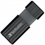 Memoria USB 2.0 PinStripe da 64Gb Colore Nero