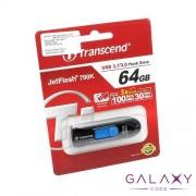 USB Flash memorija Transcend 64GB 3.1 crno-plava