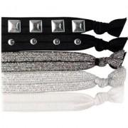 Knotties Hair Tie, Embellished Silver Hårsnoddar