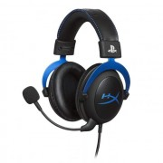 HEADPHONES, Kingston HyperX Cloud - PS4, Microphone, Gaming, Черен/Син (HX-HSCLS-BL/EM)