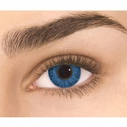 Exclusive Diamond eye one day Dark blue color Disposable color contact lens (zero power)